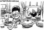 Dwane Powell  Dwane Powell's Editorial Cartoons 2005-02-14 North Korea