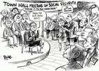 Dwane Powell  Dwane Powell's Editorial Cartoons 2005-02-14 freedom of speech