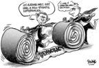 Dwane Powell  Dwane Powell's Editorial Cartoons 2005-02-25 democracy