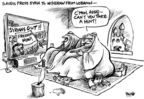 Dwane Powell  Dwane Powell's Editorial Cartoons 2005-03-03 democracy