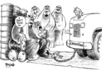 Dwane Powell  Dwane Powell's Editorial Cartoons 2005-04-27 Saudi Arabia