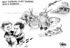 Dwane Powell  Dwane Powell's Editorial Cartoons 2005-07-21 supreme court nominee