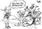 Dwane Powell  Dwane Powell's Editorial Cartoons 2005-09-30 corruption