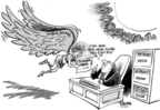 Dwane Powell  Dwane Powell's Editorial Cartoons 2006-03-15 freedom of the press