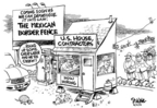 Dwane Powell  Dwane Powell's Editorial Cartoons 2006-03-31 immigration
