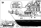 Dwane Powell  Dwane Powell's Editorial Cartoons 2006-04-12 immigration