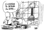 Dwane Powell  Dwane Powell's Editorial Cartoons 2007-03-27 climate change