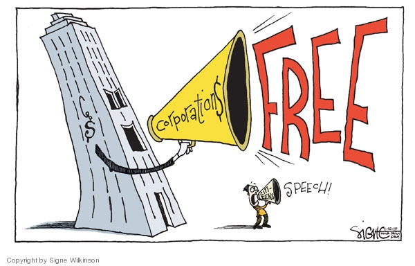 $ Corporation$ FREE.  Citizens speech!