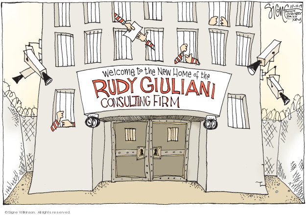 Welcome to the new Home of the Rudy Giuliani Consulting Firm.