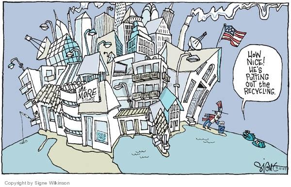 Signe Wilkinson's Editorial Cartoons - Urban Sprawl ...