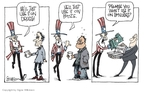 Signe Wilkinson  Signe Wilkinson's Editorial Cartoons 2008-12-30 compensation