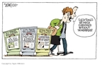 Signe Wilkinson  Signe Wilkinson's Editorial Cartoons 2009-02-24 kiss