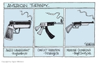 Signe Wilkinson  Signe Wilkinson's Editorial Cartoons 2009-04-07 Pittsburgh Synagogue Shooting