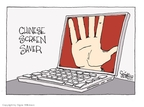 Signe Wilkinson  Signe Wilkinson's Editorial Cartoons 2009-07-11 China