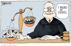 Signe Wilkinson  Signe Wilkinson's Editorial Cartoons 2009-07-22 corruption