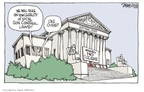 Signe Wilkinson  Signe Wilkinson's Editorial Cartoons 2009-10-02 rule of law