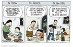 Signe Wilkinson  Signe Wilkinson's Editorial Cartoons 2009-10-20 China