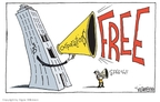 Signe Wilkinson  Signe Wilkinson's Editorial Cartoons 2010-01-22 freedom of speech