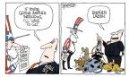 Signe Wilkinson  Signe Wilkinson's Editorial Cartoons 2010-07-13 economic