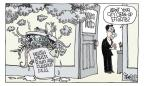 Signe Wilkinson  Signe Wilkinson's Editorial Cartoons 2011-04-27 king