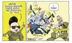 Signe Wilkinson  Signe Wilkinson's Editorial Cartoons 2011-07-29 Korea