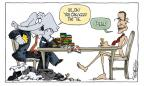 Signe Wilkinson  Signe Wilkinson's Editorial Cartoons 2011-08-02 economic