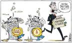 Signe Wilkinson  Signe Wilkinson's Editorial Cartoons 2011-08-10 economic