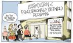 Signe Wilkinson  Signe Wilkinson's Editorial Cartoons 2011-09-08 public opinion
