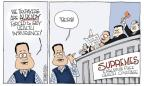 Signe Wilkinson  Signe Wilkinson's Editorial Cartoons 2012-03-29 Supreme Court