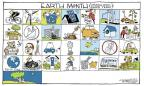 Signe Wilkinson  Signe Wilkinson's Editorial Cartoons 2012-04-23 earth day