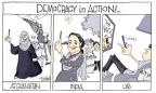 Signe Wilkinson  Signe Wilkinson's Editorial Cartoons 2014-05-22 democracy