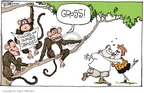 Signe Wilkinson  Signe Wilkinson's Editorial Cartoons 2006-05-19 kiss