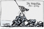 Signe Wilkinson  Signe Wilkinson's Editorial Cartoons 2006-08-22 World War II Memorial