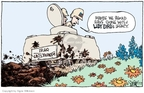 Signe Wilkinson  Signe Wilkinson's Editorial Cartoons 2007-07-17 Lyndon Baines Johnson