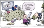 Signe Wilkinson  Signe Wilkinson's Editorial Cartoons 2007-08-16 China