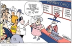 Signe Wilkinson  Signe Wilkinson's Editorial Cartoons 2007-08-24 Rudy Giuliani