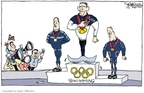 Signe Wilkinson  Signe Wilkinson's Editorial Cartoons 2008-08-13 2008 Olympics