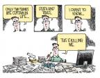 Mike Smith  Mike Smith's Editorial Cartoons 2013-04-12 tax preparation