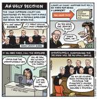Jen Sorensen  Jen Sorensen's Editorial Cartoons 2013-07-15 court
