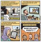 Jen Sorensen  Jen Sorensen's Editorial Cartoons 2016-07-11 Pulse nightclub shooting