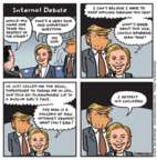Jen Sorensen  Jen Sorensen's Editorial Cartoons 2016-10-10 democratic candidate