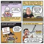 Jen Sorensen  Jen Sorensen's Editorial Cartoons 2017-03-27 democracy