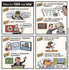 Jen Sorensen  Jen Sorensen's Editorial Cartoons 2018-11-12 World War II Memorial