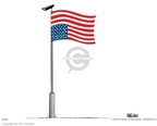 Ann Telnaes  Ann Telnaes' Editorial Cartoons 2004-11-03 American flag
