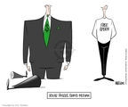 Ann Telnaes  Ann Telnaes' Editorial Cartoons 2002-02-21 corruption