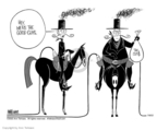 Ann Telnaes  Ann Telnaes' Editorial Cartoons 2002-07-08 distraction