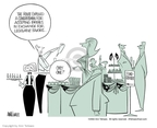Ann Telnaes  Ann Telnaes' Editorial Cartoons 2002-07-25 bribery