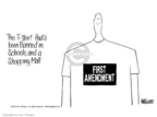 Ann Telnaes  Ann Telnaes' Editorial Cartoons 2003-03-05 freedom of expression