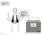 Ann Telnaes  Ann Telnaes' Editorial Cartoons 2003-08-17 acknowledge
