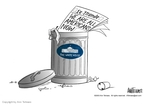 Ann Telnaes  Ann Telnaes' Editorial Cartoons 2003-09-10 tower